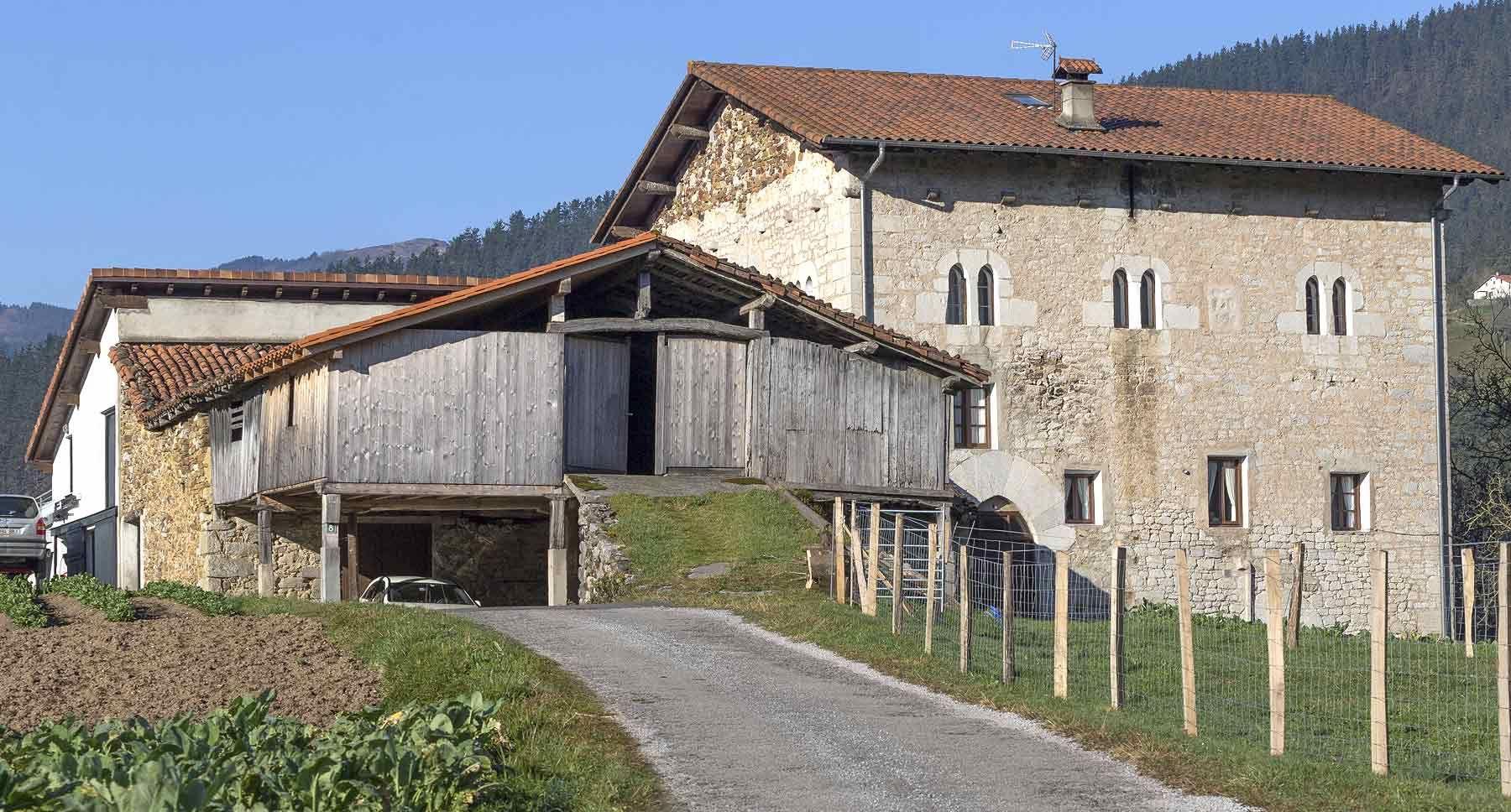 Torre zabala elgoibar edificios singulares de gipuzkoa for 1800 piani di casa sf